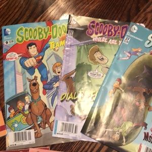 SCOOBY-DO comic and book lot
